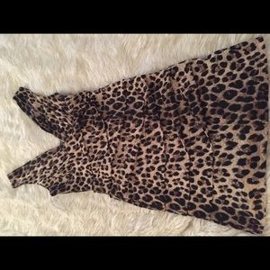 Dresses & Skirts - Sexy Leopard Party Dress; Spandex
